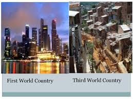 first world n third world comparison first world country third world country 6 problems