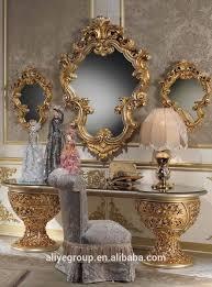 Luxus Royal Dunkelbraun Holz Leder Kopfteil König Queen Size Bett