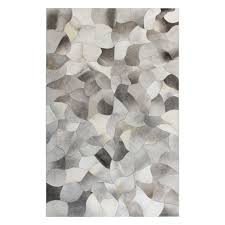 flooring original gray patchwork cowhide rugs by bashian rugs
