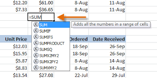 excel functions excel 2010 working with basic functions