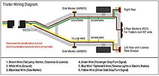amazon com shoreline marine 4 way trailer wire harness (25 feet trailer standard repair times at Great Dane Trailer Lights Wiring Diagram