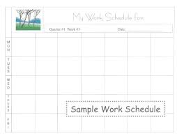 daily work schedule templates daily work schedule template image 5 weekly work schedule