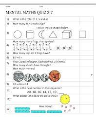 Kindergarten Math Homework Worksheets Free Printable Kindergarten ...