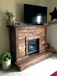 how to build fireplace mantel a concrete shelf over brick your own