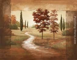 vivian flasch autumn scroll i art painting