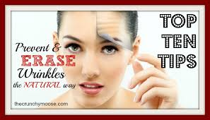 prevent and erase wrinkles the natural way you ll never guess the top tip