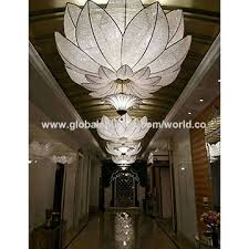 china big crystal ceiling lamp for hotel project lighting meeting room lighting