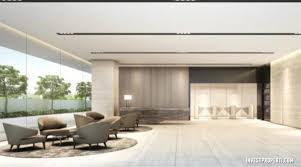 lobby office. WOHO One Parc Puri Office Lobby L