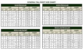 Xtratuf Boot Conversion Chart Ladies Boot Size Chart