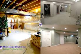 Basement Remodeling And Finishing In Dayton Ohio Ohio Home Doctor - Bathroom in basement cost