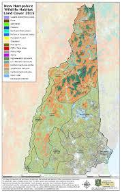 nh wildlife action plan and habitat maps  wildlife  new