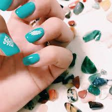 Vsco Nail Blue Turquoise ネイル 夏色 ターコイズ ターコイズ