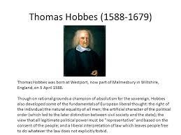 thomas hobbes essay essay history of psychology the british empiricist school of thomas hobbes essay