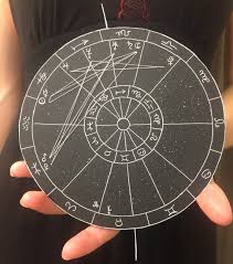 Custom Drawn Astrological Chart Large In 2019 How To Draw