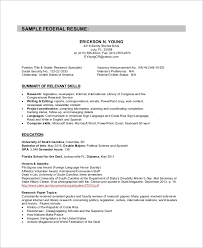federal resume format 2016 how to get a job go government federal resume sample