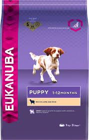 Eukanuba Large Breed Puppy Feeding Chart Eukanuba Lamb Rice Puppy Food