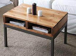 High Quality Simple Narrow Coffee Table With Storage Design