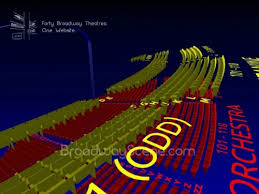 George Gershwin Theatre Wicked 3 D Broadway Seating Chart