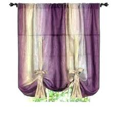 purple ruffle shower curtains teal ombre curtains purple amazing blue window aubergine tie up shade