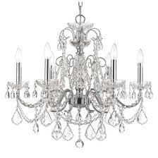 crystorama chandelier sphere light fixture brushed nickel dining room light fixtures