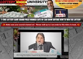 Resultado de imagem para lottery winner university