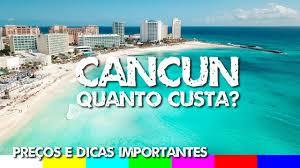 Quanto Custa Viajar para Cancun - México: Preços e Dicas Importantes -  YouTube