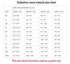 Quiksilver Mens Highline 3 2mm Hydrolock Performance Chest