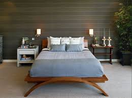 amazing wall mounted lamp wooden walls decorated with small lights above the bed