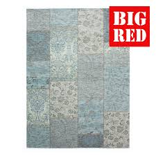 flair rugs traditional collection manhattan patchwork chenille duck egg
