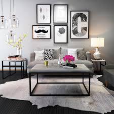 modern room furniture. Gymax Modern Rectangular Cocktail Coffee Table Metal Frame Living Room  Furniture Modern Room Furniture