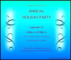 Party Invitation Template Word Free Holiday Party Invitation Templates For Word Tinajoathome
