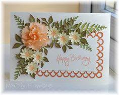Paper Flower Punches 89 Best Floral Punch Craft Images Flower Crafts Paper Flowers Cards