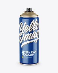 Alibaba.com offers 1,165 300ml pu foam products. Opened Glossy Spray Can Mockup In Can Mockups On Yellow Images Object Mockups