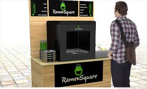 Noodle Vending Machine For Sale Simple Innovation In Vending Machines Ramen Noodles In Three Minutes 48