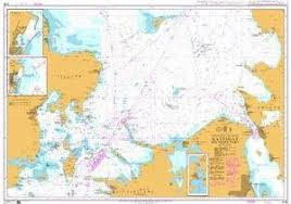 Nautical Charts British Admiralty Nautical Chart 2108 Entrance To The Baltic Kattegat Southern Part
