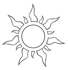 Sun Template Printable Best Photos Of Sun Pattern Template Sun Template Pattern