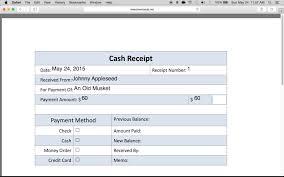 Cash Recepit How To Write A Petty Cash Receipt Form YouTube Cash Receipt 10