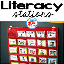 Reading Center Rotation Chart Literacy Stations