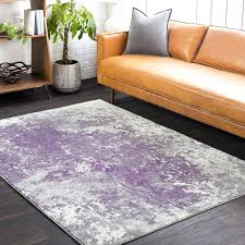 purple area rugs 8x10 forge abstract medium gray dark purple area with and rug plan furnitureland
