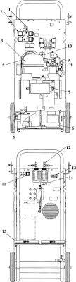 robinair 12134b series dual gas recovery recycling unit parts robinair 12134b recovery unit parts