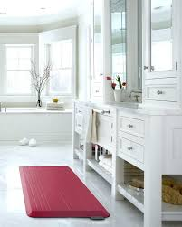 non slip kitchen rugats memory foam cushioned mat padded floor gel backed for