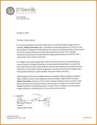 college letter of re mendation format sample re mendation letter for high school student college