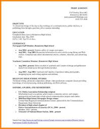 sample college resumes for high school seniors. 9 resume with honors and awards  resume ...