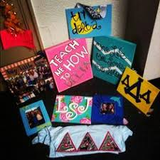 tri delta little canvas one life one love one letter