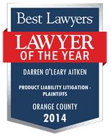 Darren O'Leary Aitken - Santa Ana, CA - Lawyer | Best Lawyers