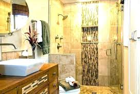 glass tile bathroom tile accent wall in bathroom tile accent wall in bathroom accent tile image