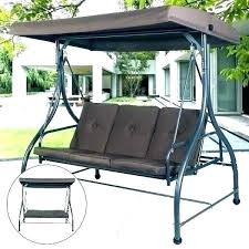 canopy swing swing canopy t patio cushions and porch outdoor swings parts seat outside with