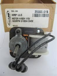 interlink heatcraft s58 856 1 150 hp 115v 3000 rpm fan motor ebay