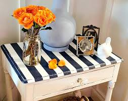 paint table top paint stripes on table top how to black chalk paint table top can