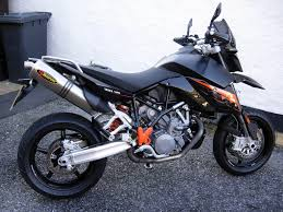 ktm 990 supermoto black 2008